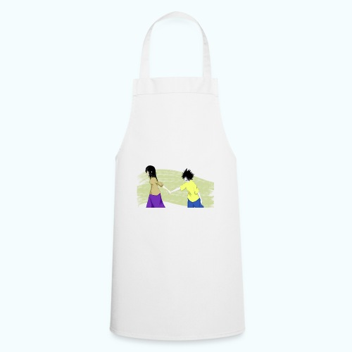WHERE? Real drawing - Cooking Apron