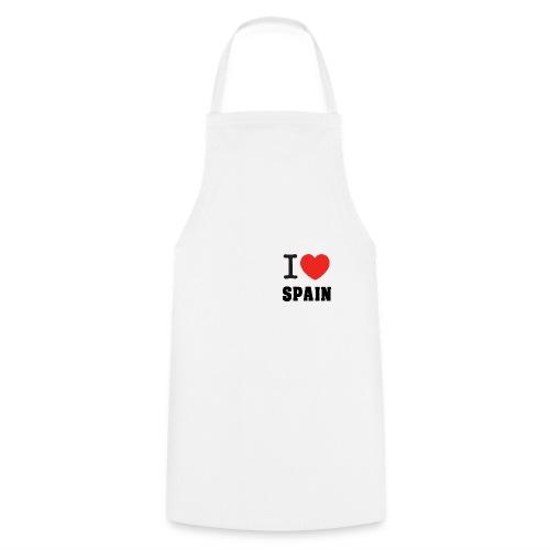 I love spain - Delantal de cocina