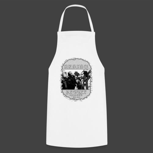 PICTRESIST9 - BLACK & WHITE - Cooking Apron