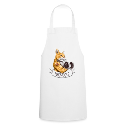 Meowscle - Cooking Apron