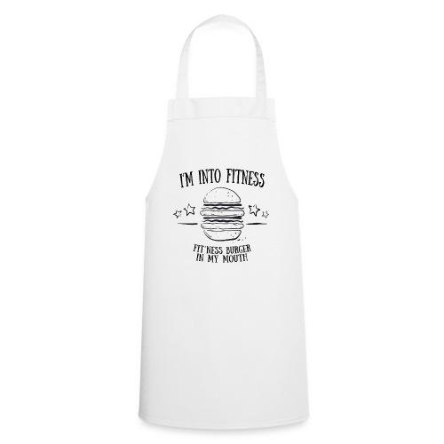 I'm into fitness burger shirt - Geschenk - Kochschürze