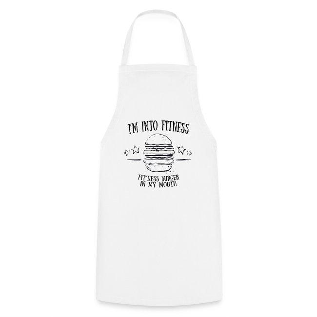 I'm into fitness burger shirt - Geschenk