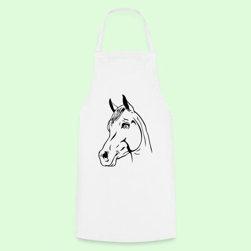 Tête de cheval - Tablier de cuisine