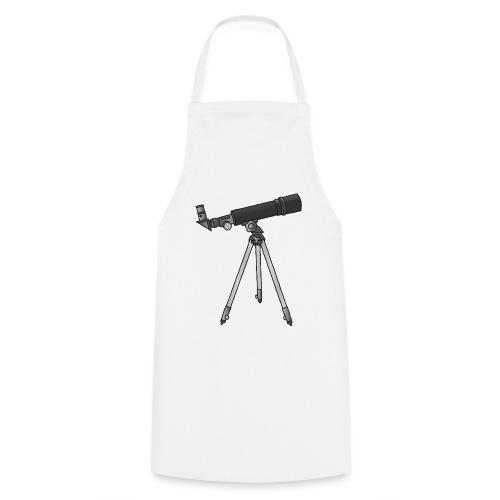 Teleskop Astronomie c - Kochschürze