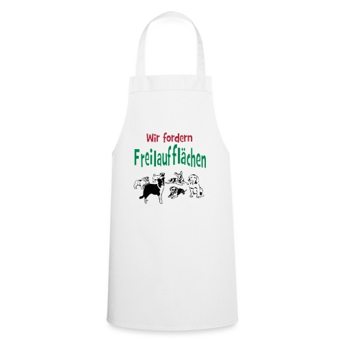 Hunde-Freilaufflächen -1 - Kochschürze
