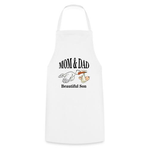 Mom & Dad Son - Cooking Apron