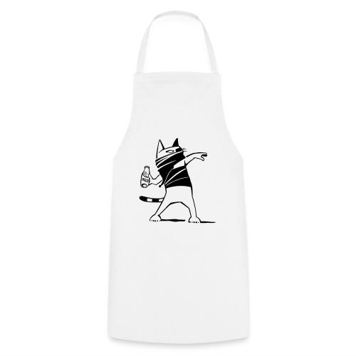 Katze against. - Kochschürze