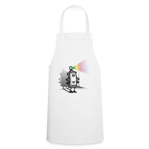 Happy paint spray - Cooking Apron