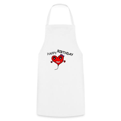 Herz Smiley Geburtstag - Kochschürze