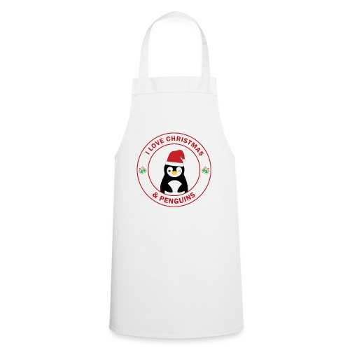 Christmas Penguin - Cooking Apron