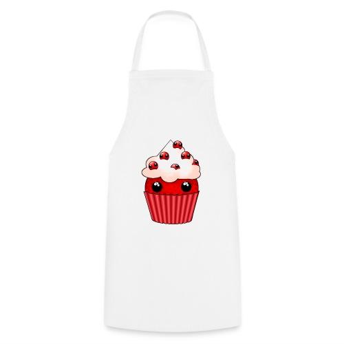 kawaii cupcake cranberry - Cooking Apron