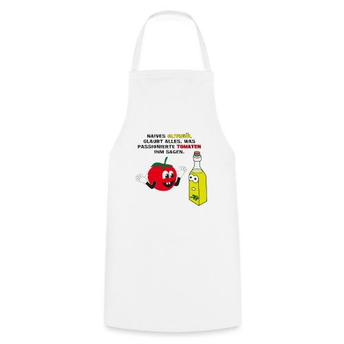 Tomate und Olivenöl - Kochschürze
