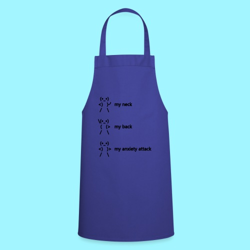 neck back anxiety attack - Cooking Apron
