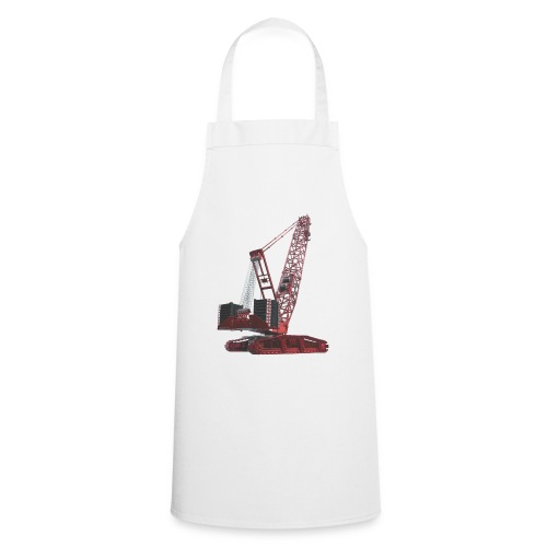 Crawler Crane 750t - Red - Cooking Apron