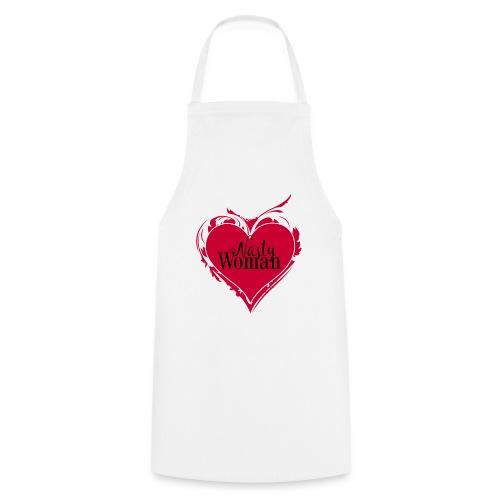 Nasty Woman ART Heart - Kochschürze