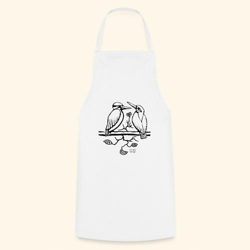 Eisvogel Liebe - Kochschürze