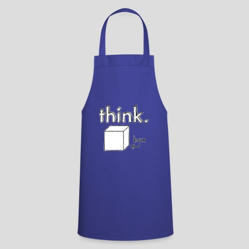 Think Outside The Box Illustration - Cooking Apron