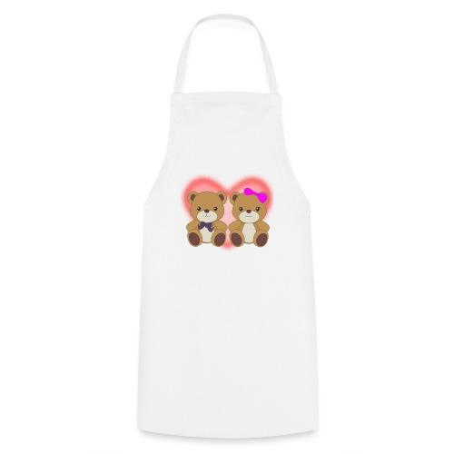 Orsetti con cuore - Grembiule da cucina