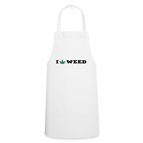 I LOVE WEED - Cooking Apron