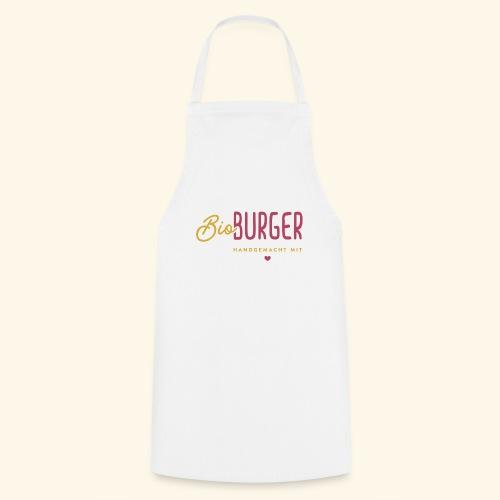 BIO BURGER - Logo Querformat - Kochschürze