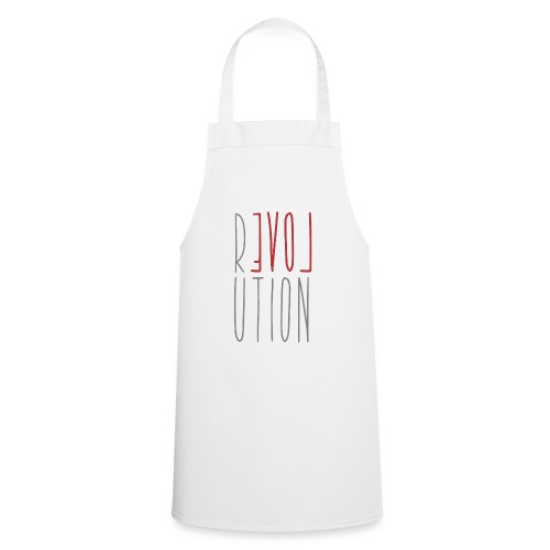 Love Peace Revolution - Love Peace Statement - Cooking Apron