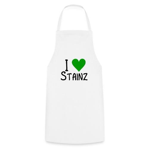 I love Stainz schwarz png - Kochschürze