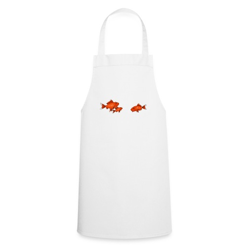 Poissons rouges - Tablier de cuisine