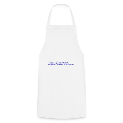 Komiker blau - Kochschürze