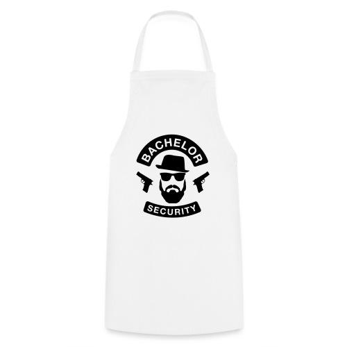 Bachelor Security - JGA T-Shirt - Bräutigam Shirt - Kochschürze