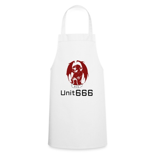 Unit 666 Front Print with text type 2. - Cooking Apron