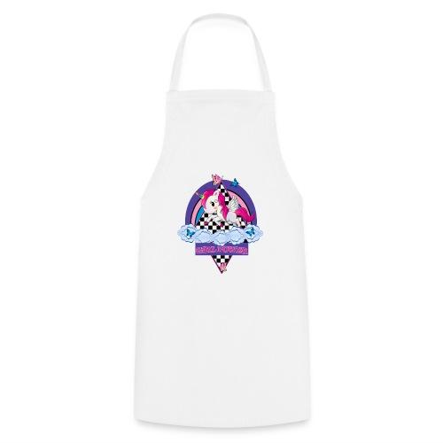 Einhorn mit Girl Power - Kochschürze