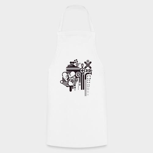 PSICODELIA - Delantal de cocina