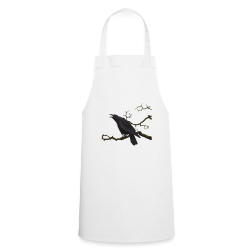 Cuervo negro - Delantal de cocina