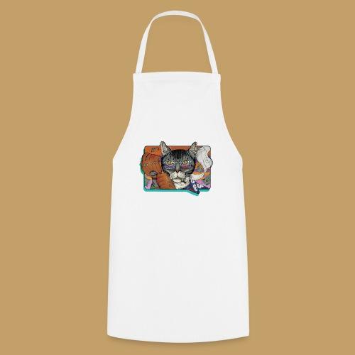Crime Cat - Fartuch kuchenny
