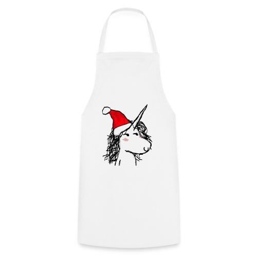 unicorno Natale - Grembiule da cucina