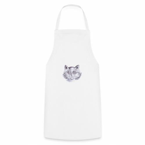 Gatto Con occhi grandi - Grembiule da cucina