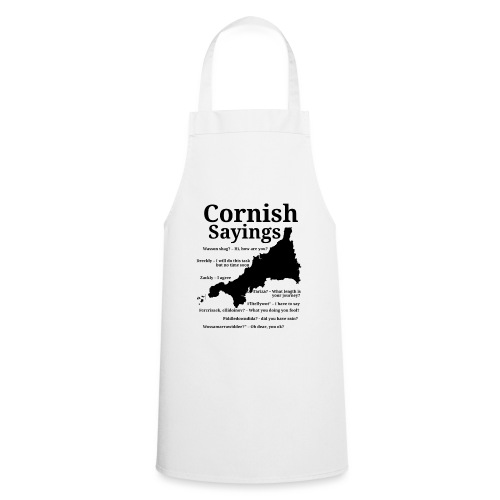 Cornish sayings - Cooking Apron