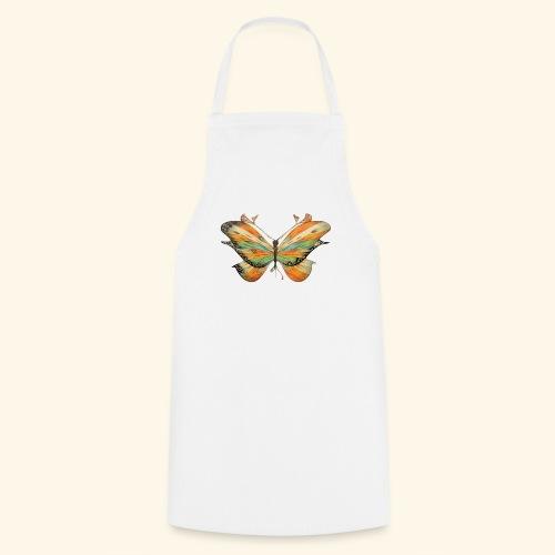 grande farfalla colorata - Grembiule da cucina