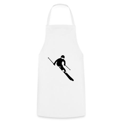 Skifahrer - Kochschürze