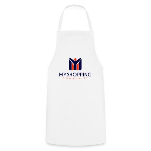 logo MYSC verticale - Grembiule da cucina