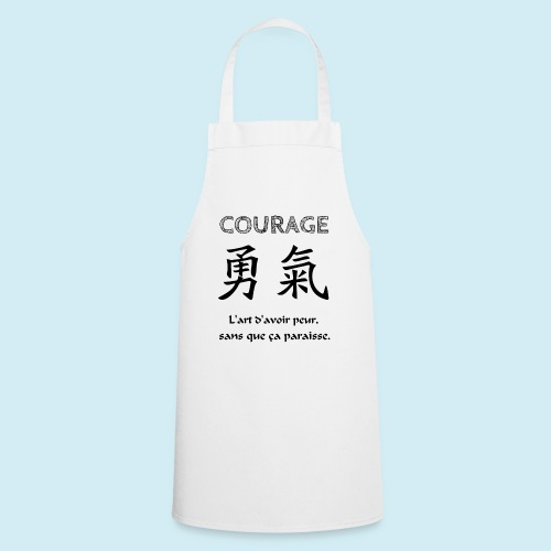 Courage - Tablier de cuisine