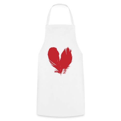 plumes de cœur - Tablier de cuisine