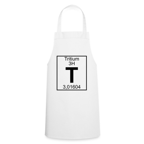T (tritium) - Element 3H - pfll - Cooking Apron