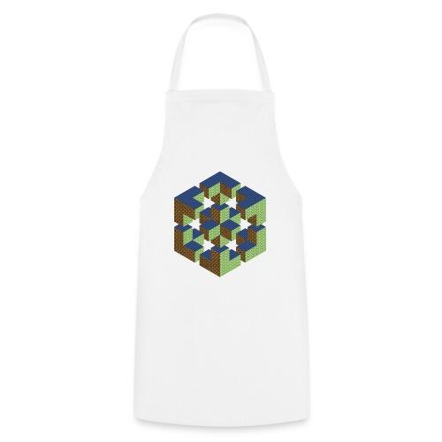 impossible figure cube Würfel Geek Geometrie Nerd - Cooking Apron