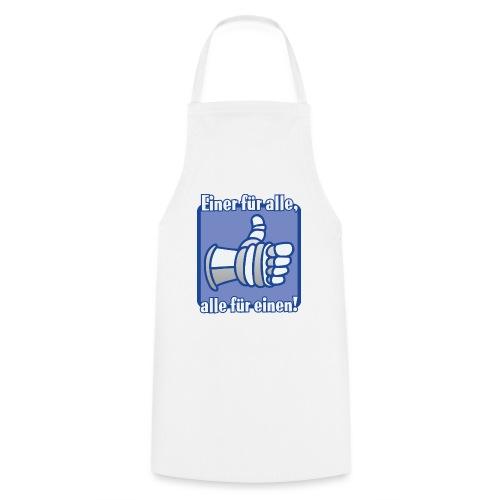 Kinder Langarmshirt - Einer für alle, alle für e - Kochschürze