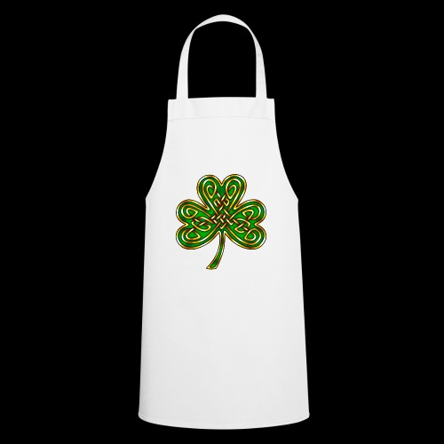 Celtic Knotwork Shamrock - Cooking Apron