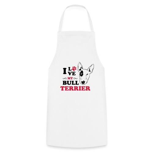 I love my Pitbull Terrier - Kochschürze