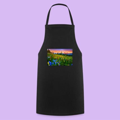 Bagliori in montagna - Grembiule da cucina