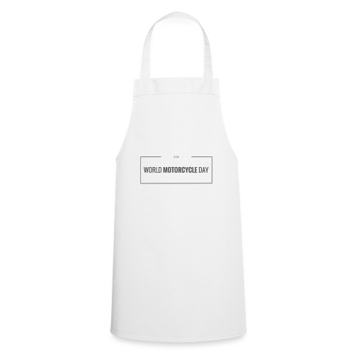 World Motorcycle Day 2016 Official T-Shirt ~ White - Cooking Apron