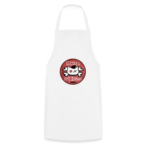 kitty is not dead logo - Tablier de cuisine